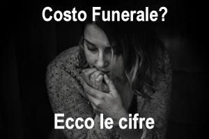 Quanto costa un funerale a Olbia Tempio e provincia